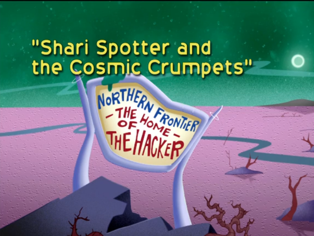 Shari Spotter and the Cosmic Crumpets