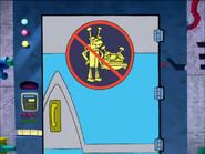 Wrecker lab door