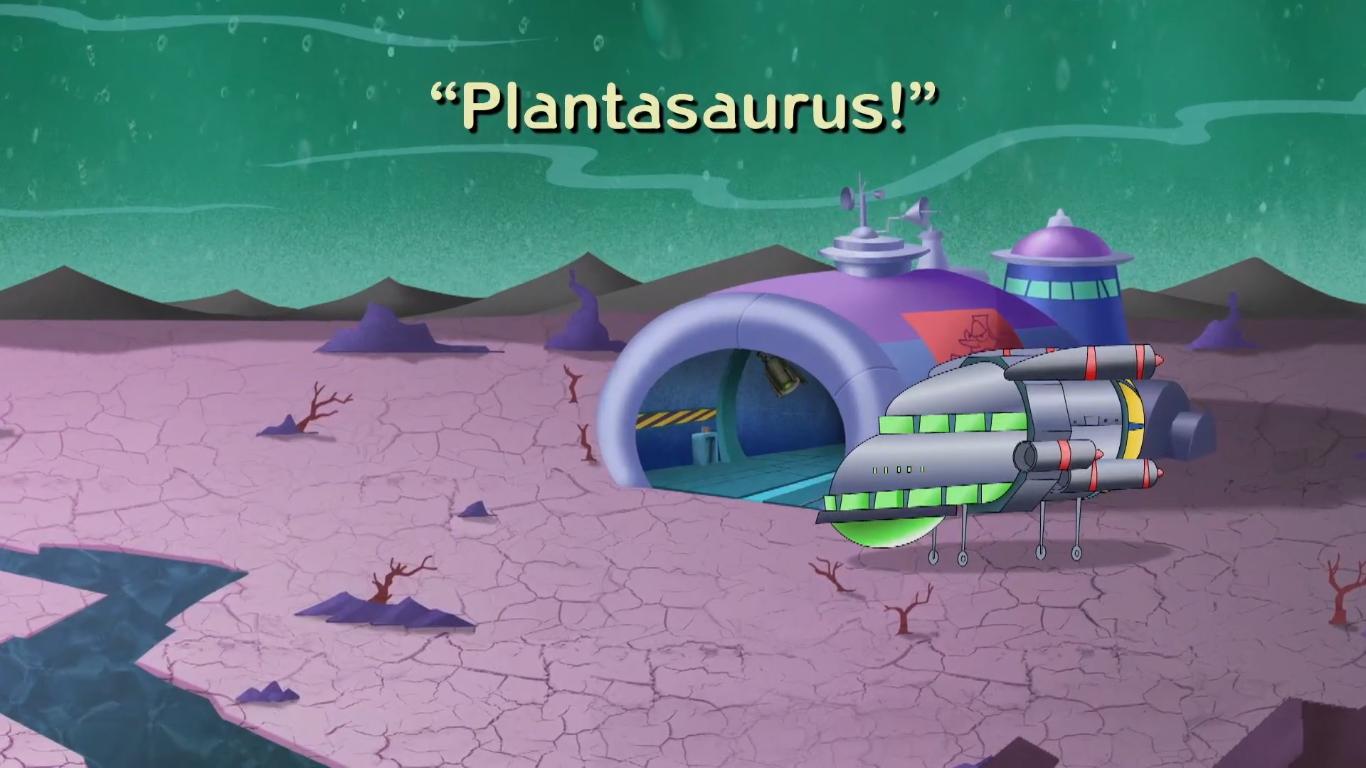 Plantasaurus!