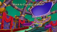 Back to Canalia's future title card