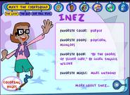 Inez 2008 favorite color food book (2)