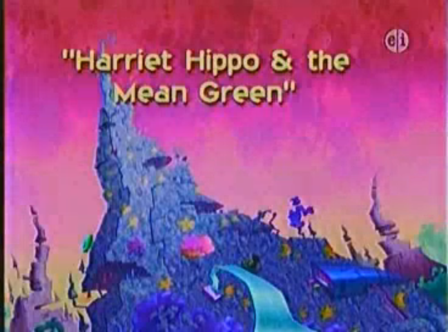 Harriet Hippo & the Mean Green