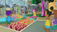 S12E04 Ms. Marigold is impressed by the Carroll Street Garden