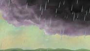 S12E07 Raining on Serene Greens sky view