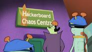 S12E07 Hackerboard Chaos Central Main Entrance