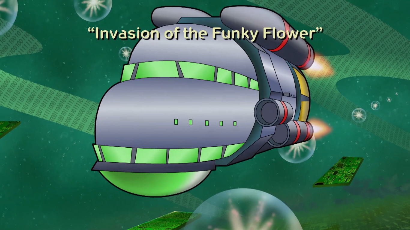 Invasion of the Funky Flower (plot synopsis)