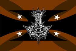 Mjollnir Official Flag