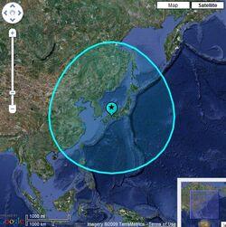 Location of Exedore