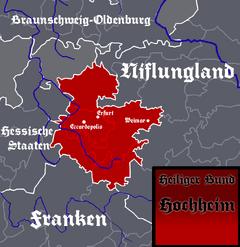 Location of Hochheim