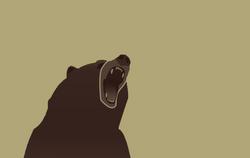 Variant flag of The Bear Cavalry