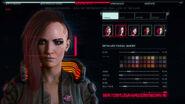 Scan biométrique - Créateur de personnage