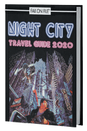 CPRED Night City Travel Guide 2020