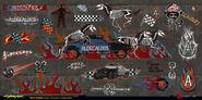 Aldecaldos graffiti