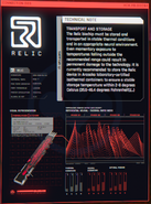 RELIC Technical Note