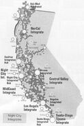 Cyberpunk V3.0 Night City Integrates Map