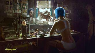 Cyberpunk 2077 4 (concept art)