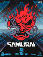 CP2077 Samurai Poster1