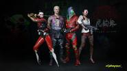Miembros Garras de Tygre 2077