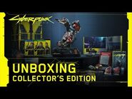 Cyberpunk 2077 — Official Collector's Edition Unboxing Video