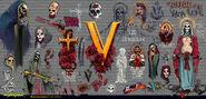 Valentinos graffiti
