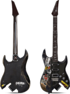 Silverhand guitar render