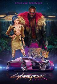 Plakat 4 Cyberpunk 2077