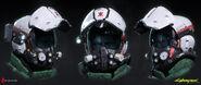 CP2077 Trauma Team medic helmet design