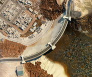 Petrochem Dam Satellite Map 2077