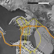 Night City 2077 Concept Map 2