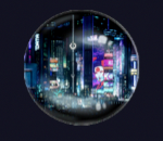 Cyberpunk 2077 Souvenirmagnet