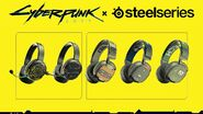 Cyberpunk 2077 SteelSeries Line-Up