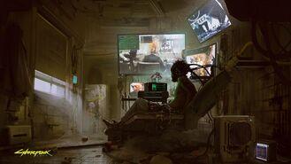Cyberpunk 2077 3 (concept art)