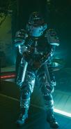 Arasaka Soldier white 2077