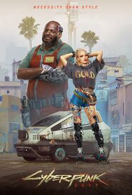 Plakat 3 Cyberpunk 2077