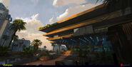 Batty's Hotel exterior concept