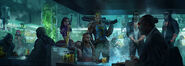 CP2077 The Afterlife business deal concept art