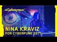 Nina Kraviz for Cyberpunk 2077