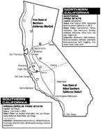 Night City Sourcebook California Map