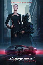 Plakat 1 Cyberpunk 2077