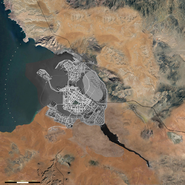 Night City 2077 Concept Map