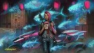 Cyberpunk Magizine Art
