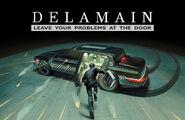 Delamain Advertisement 2077