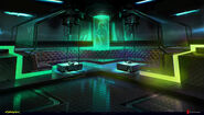 CP2077 The Afterlife booth concept 1