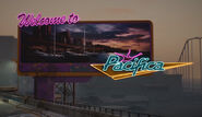 Pacifica Welcome Sign