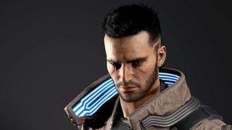 V model 3D w wersji męskiej (Cyberpunk 2077)