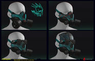 Wraiths masks 1