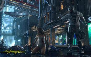 Cyberpunk 2077 Psycho Squad (concept art)