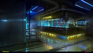 CP2077 The Afterlife bar area concept