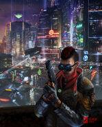 Cyberpunk RED Artwork 2