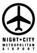 CP2020 Night City Metropolitan Airport Logo